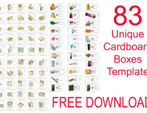 83 Unique Cardboard Boxes Template FREE download